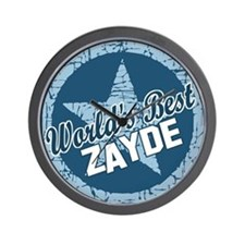 Worlds Best Zayde Wall Clock