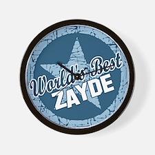 Worlds Best Zayde Wall Clock