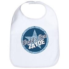 Worlds Best Zayde Bib