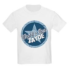 Worlds Best Zayde T-Shirt