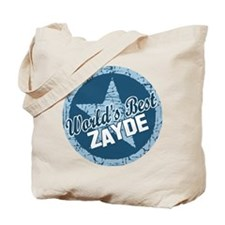 Worlds Best Zayde Tote Bag