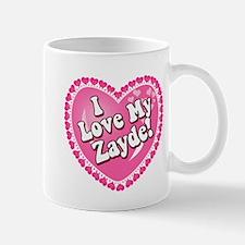 I Love My Zayde Mug
