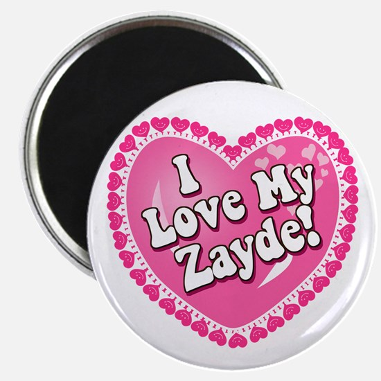 I Love My Zayde Magnet
