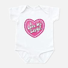 I Love My Zayde Infant Bodysuit