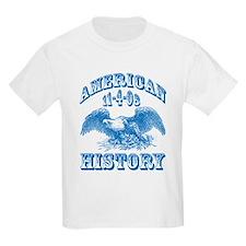 Obama Wins Makes History T-Shirt