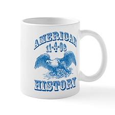 Obama Wins Makes History Mug