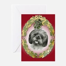 Shih Tzu Christmas Greeting Cards (Pk of 20)
