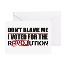 Don't Blame Me <br> Greeting Card