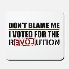 Don't Blame Me <br> Mousepad