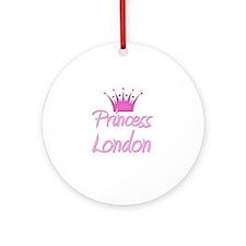 Princess London Ornament (Round)
