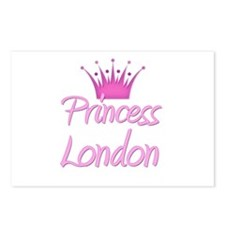 Princess London Postcards (Package of 8)