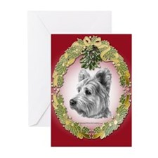 Westie Terrier Christmas Greeting Cards (Pk of 20)