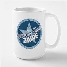 World's Best Zadie Large Mug