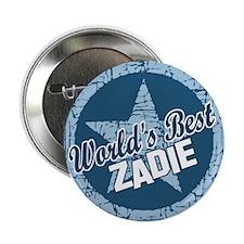 """World's Best Zadie 2.25"""" Button"""