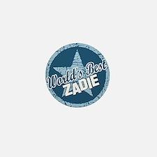 World's Best Zadie Mini Button