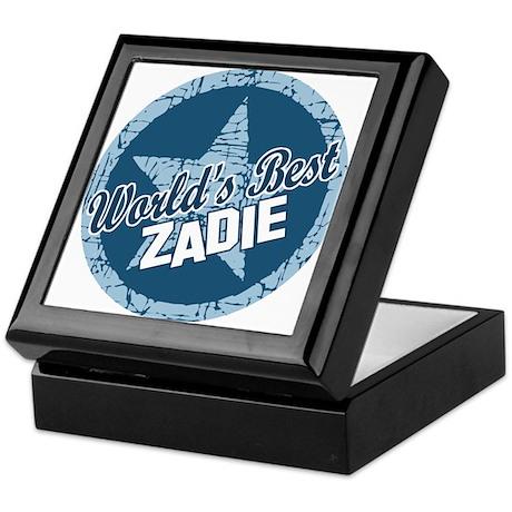 World's Best Zadie Keepsake Box