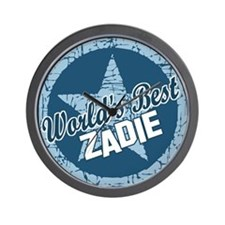 World's Best Zadie Wall Clock