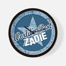 World's Best Zadie Wall Clock