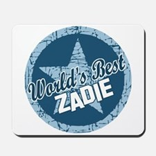 World's Best Zadie Mousepad