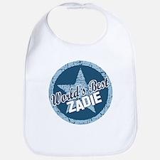 World's Best Zadie Bib