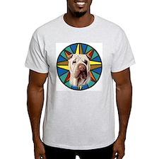Sharpei Ash Grey T-Shirt