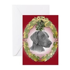 Weimeraner Christmas Greeting Cards (Pk of 20)