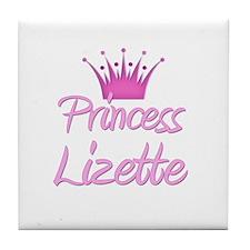 Princess Lizette Tile Coaster