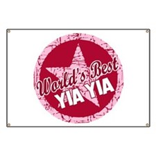 Worlds Best Yia Yia Banner