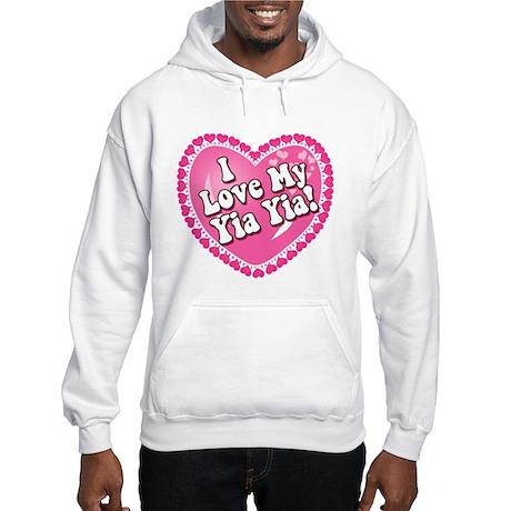 I Love My Yia Yia Hooded Sweatshirt