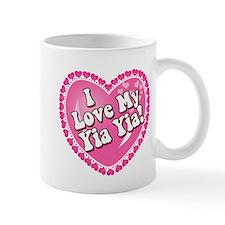 I Love My Yia Yia Small Mugs