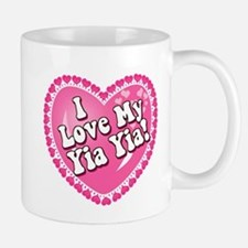 I Love My Yia Yia Small Mugs