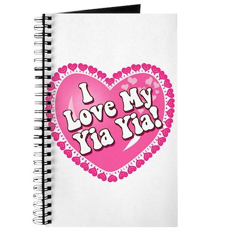 I Love My Yia Yia Journal