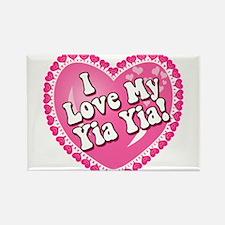 I Love My Yia Yia Rectangle Magnet