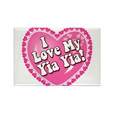 I Love My Yia Yia Rectangle Magnet (10 pack)