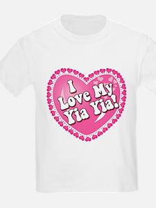 I Love My Yia Yia T-Shirt