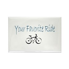 Your Favorite Ride Rectangle Magnet