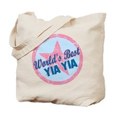 Worlds Best Yia Yia Tote Bag