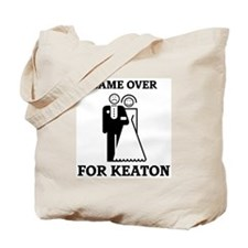 Game over for Keaton Tote Bag