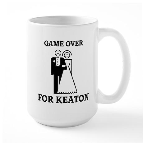 Game over for Keaton Large Mug