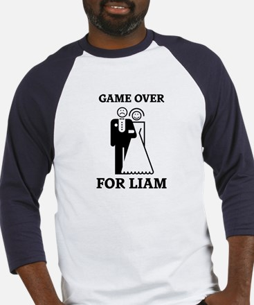 Game over for Liam Baseball Jersey