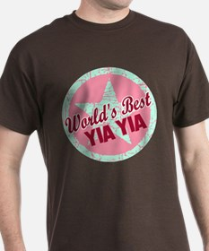 The World's Best Yia Yia T-Shirt