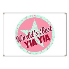 The World's Best Yia Yia Banner