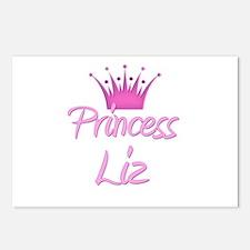 Princess Liz Postcards (Package of 8)