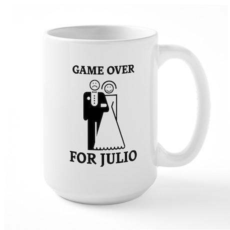 Game over for Julio Large Mug