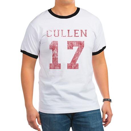 Vintage Cullen 17 Varsity Ringer T