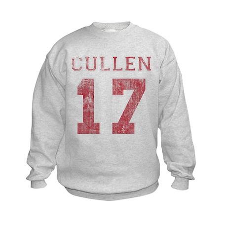 Vintage Cullen 17 Varsity Kids Sweatshirt