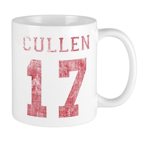 Vintage Cullen 17 Varsity Mug