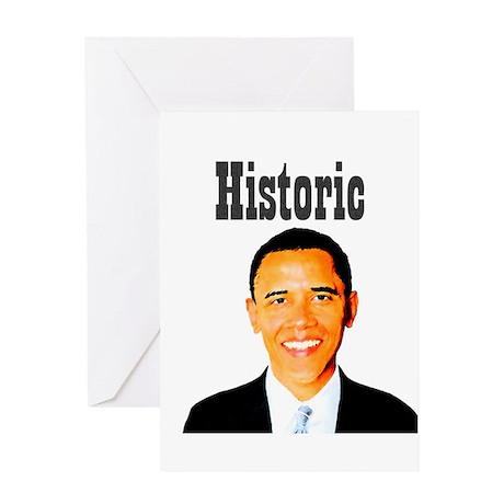 Historic Obama Greeting Card