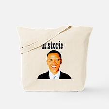 Historic Obama Tote Bag