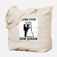 Game over for Jovan Tote Bag